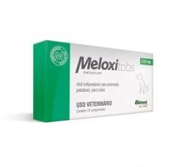Meloxitabs Biovet 2,0mg Anti-Inflamatório Para Cães 10Comp.