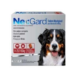 Nexgard 25 A 50 Kg Antipulgas E Carrapatos Cães