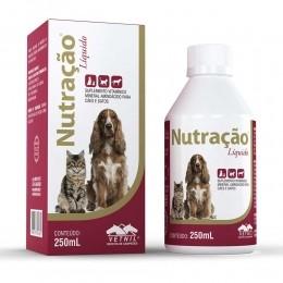 Nutracão liquido Vetnil 250 Ml suplemento vitaminico