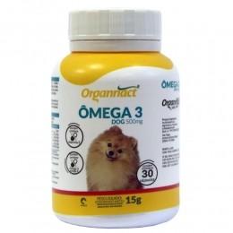 Ômega 3 Dog 500mg Organnact Para Cães