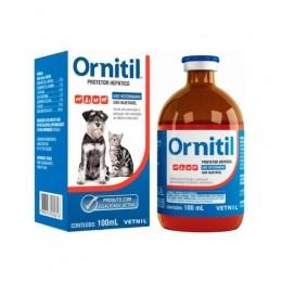 Ornitil Auxiliar do Metabolismo Hepático Vetnil 100ml
