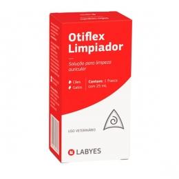 Otiflex Limpiador Solução Limpeza Auricular Labyes 25ml