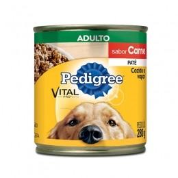 Pedigree Lata Adulto Carne Patê 280g Para Cães