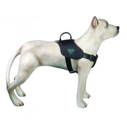 Peitoral Tático Extreme para Cães K9 Spirit Preto Tamanho P