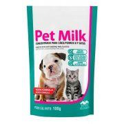 Pet Milk 100g Vetnil Suplemento Para Filhotes Cães e Gatos