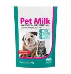 Pet Milk 300g Vetnil Suplemento Para Filhotes Cães e Gatos