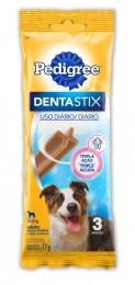 Petisco Pedigree Dentastix Cuidado Oral Cães Adultos Raças Médias - 3 Unidades
