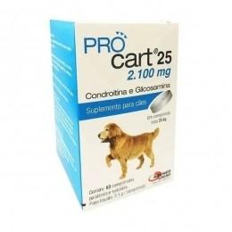 Pro Cart 25 - 60 Comprimidos - Agener União
