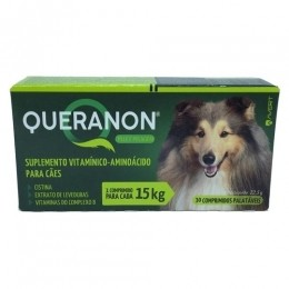 Queranon Suplemento para Cães 15kg 30 Comprimidos Avert