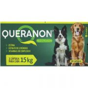Queranon Vitaminas Pele E Pelagem Cães 30 Cápsulas