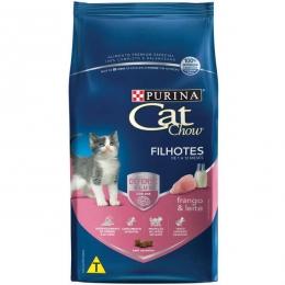 Ração Cat Chow Defense Plus Frango e Leite para Gatos Filhotes - 1 Kg