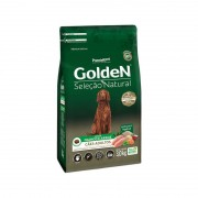 Ração Golden Seleção Natural Cães Adultos Frango Arroz 3kg