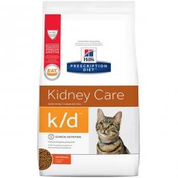 Ração Hill's Prescription Diet K/D Cuidado Renal para Gatos Adultos - 1,81 Kg