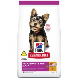 Ração Hill's Science Diet para Cães Filhotes Raças Pequenas e Minis - 800 g