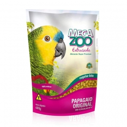 Ração Megazoo Extrusada para Papagaio AM16 - 600g