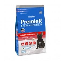 Racão Premier Bulldog Francês Filhote 2,5kg