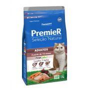Ração Premier Gatos Adultos A Partir de 12 Meses Frango 1,5Kg