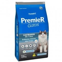 Ração Premier Gatos Castrados Até 7 Anos Frango 7,5kg