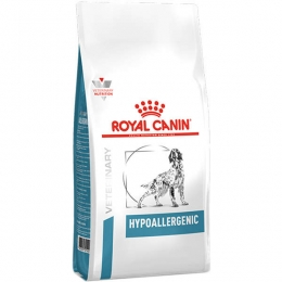 Ração Royal Canin Veterinary Diet Hypoallergenic para Cães Adultos - 2 Kg