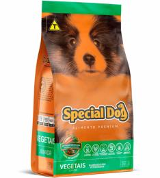Ração Special Dog Premium Junior Vegetais para Cães Filhotes - 3 Kg