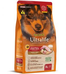 Ração Special Dog Ultralife para Cães Filhotes de Raças Médias e Grandes - 3 Kg