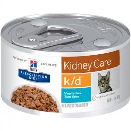 Ração Úmida Hill's Prescription Diet K/D Cuidado Renal Para Gatos 82g