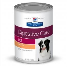 Ração Úmida Hill's Prescription Diet I/D Cuidado Digestivo Para Cães 370g