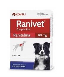 Ranivet 80mg Coveli 12 Comprimidos Para Cães