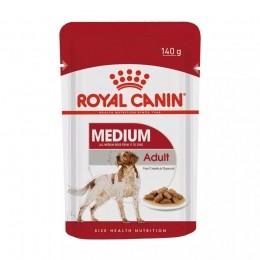 Royal Canin Sachê Medium p/ Cães Adultos Raças Médias 140g