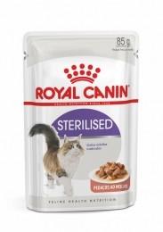 Sachê Royal Canin Sterilised Gatos Adultos Castrados 85g