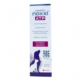 Shampoo Avert Noxxi Atp Para Cães E Gatos 200ml