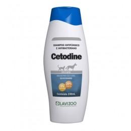 Shampoo Cetodine Antibacteriano Lavizoo 240ml