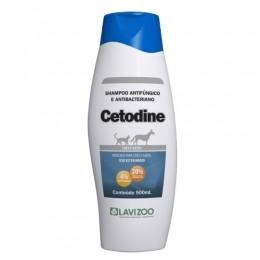 Shampoo Cetodine Antibacteriano Lavizoo 500ml