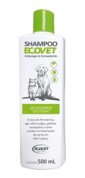 Shampoo Ecovet Antipulgas e Carrapaticida 500ml