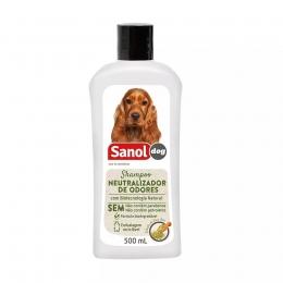 Shampoo Neutralizador de Odores 500ml Sanol Dog