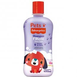 Shampoo Pets Fisher Price Cães Filhotes - 400 Ml