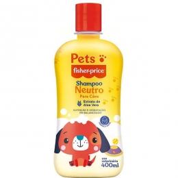 Shampoo Pets Fisher Price Neutro Para Cães - 400 Ml