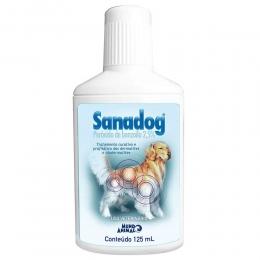 Shampoo Sanadog Peróxido Benzoíla 2,5% 125ml