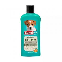 Shampoo Filhotes 500ml Sanol Dog