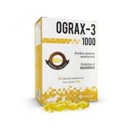 Suplemento Cães/gatos Ograx-3 1000 30cápsulas