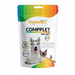 Suplemento Compplet  Mix Pet A-Z  - Organnact