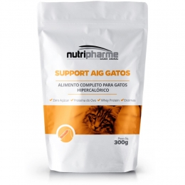Support Aig Alimento Para Gatos 300g Sachê