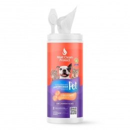 Toalhas Umedecidas Para Cães e Gatos Mait Clean Protect