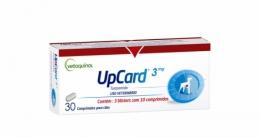 UpCard 3mg 30 Comprimidos Para Cães