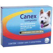 Vermifugo Ceva Canex Composto para Cães 4 Comprimidos