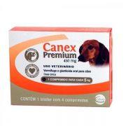 Vermífugo Ceva Canex Premium 450 mg para Cães 4 comprimidos