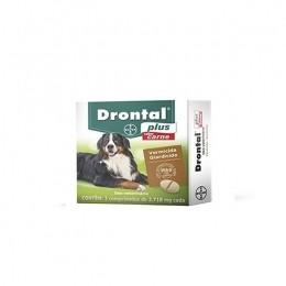 Vermifugo Drontal Plus Bayer Para Cães De 35 Kg -sabor Carne