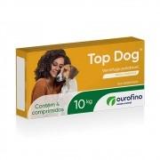 Vermífugo Top Dog Ourofino Cães Até 10 Kg Com 4 Comprimidos
