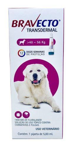 Antipulgas Bravecto Transdermal Cães 40-56kg