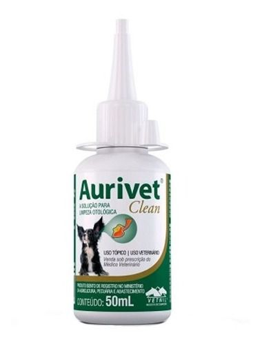 Aurivet Clean 50ml - Original Vetnil.